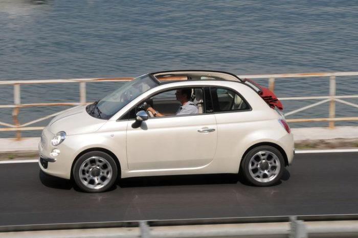 Fiat 500 C 1.3 MJT 75 cv S